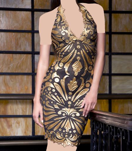 شیک ترین مدلهای لباس مجلسی کوتاه 2016