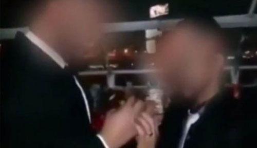ازدواج جنجالی همجنسگرایان در عربستان +عکس