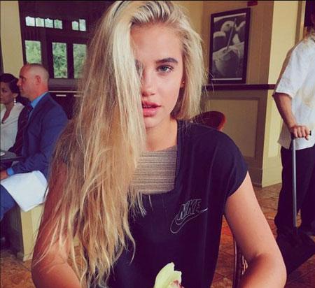 جنجال دختر زیبایی که رونالدو عاشقش شد +عکس