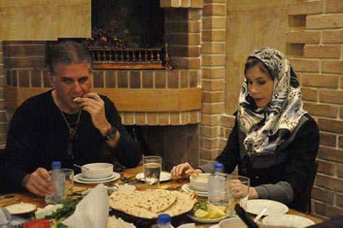 سفر همسر دوم کی روش به ایران + عکس