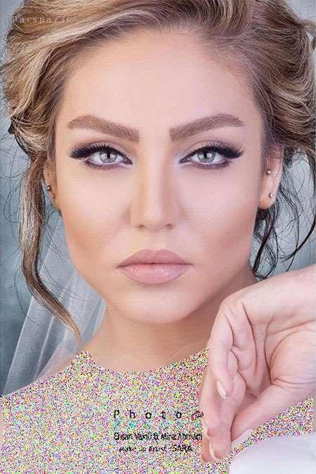 زیباترین مدلهای آرایش 98 و میکاپ عروس 2019