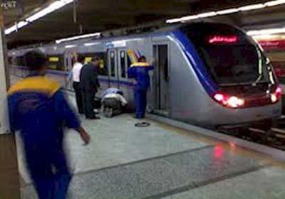 خودکشی دختر 26 ساله در متروی تهران