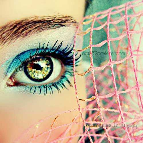 عکسهای زیبای مدل آرایش چشم فانتزی 2016