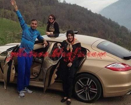 پورشه ای که کار دست سوشا مکانی داد + عکس