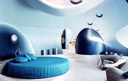 هتل باشکوه به شکل حباب +عکس