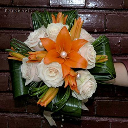 تصاویر دسته گل های زیبا و جدید عروس 2016