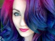 رنگ موهای بسیار زیبای این زن سوژه جهانی شد +عکس