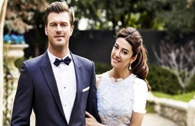 عکس مراسم ازدواج بازیگر معروف و محبوب ترکیه