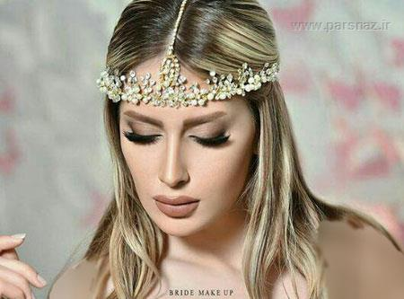 شیک ترین و جدیدترین مدلهای تاج عروس 2019
