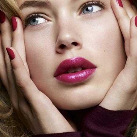شیک ترین رژ لب های دختران ناز و زیبا