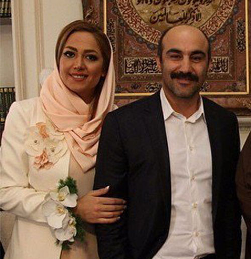 اولین و جدیدترین  عکس ها از مراسم عقد محسن تنابنده و همسرش روشنک