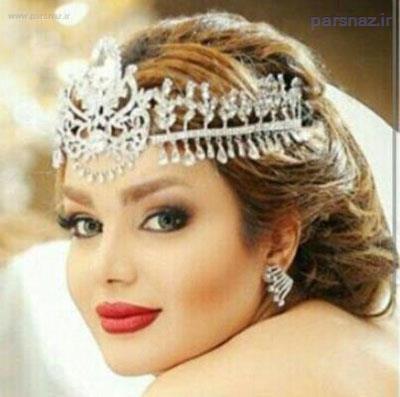 زیباترین و قشنگ ترین مدل آرایش صورت و شینیون عروس 2016