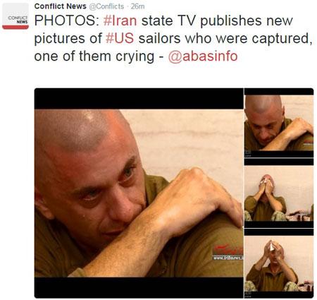 تصاویر جدید از گریه تفنگداران آمریکایی هنگام بازداشت +  عکس