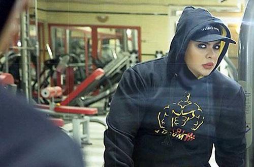 هیکل جذاب دختر بدنساز ایرانی را ببینید +عکس