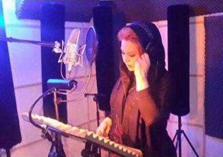 بازیگر زن ایرانی خواننده شد + عکس