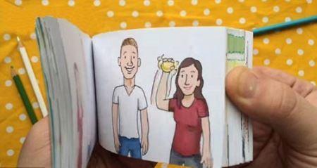 خواستگاری جالب و خلاقانه یک مرد از دوست دخترش +عکس