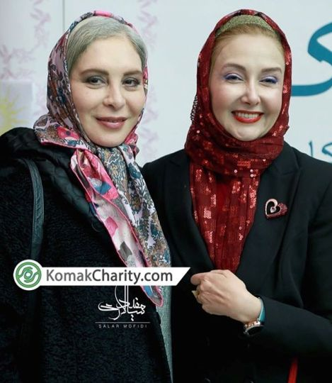 عکس 2 بازیگر 54 ساله کشورمان در کنار هم