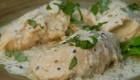 طرز تهیه غذای ایتالیایی خوشمزه مرغ خامه ای