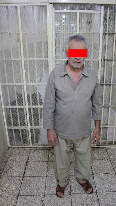 سناریوی پیرمرد در قتل همسر دوم  لو رفت +عکس