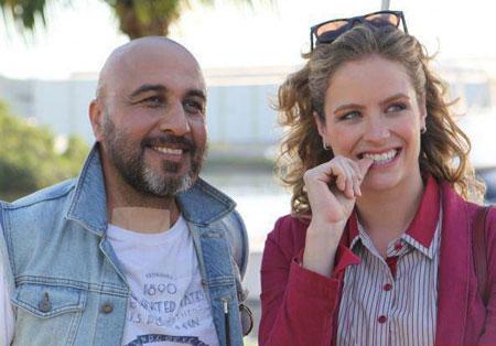 عکس جنجالی رضا عطاران و نامزد زیبای برزیلی اش
