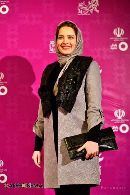 عکس های تیپ بازیگران مشهور در مراسم افتتاحیه جشنواره فیلم فجر