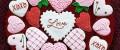 تزیین عاشقانه کوکی روز ولنتاین