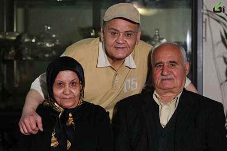 پدر اکبر عبدی درگذشت+عکس پدر و مادر اکبر عبدی .اکبر عبدی عزادار شد +عکس