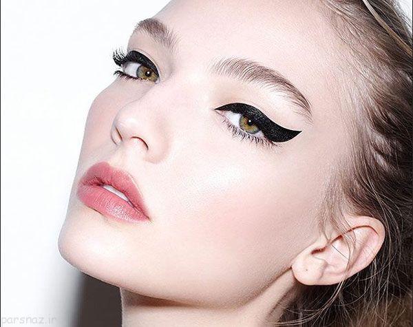 زیباترین مدل آرایش چشم و ابرو،مدل آرایش لب زنانه