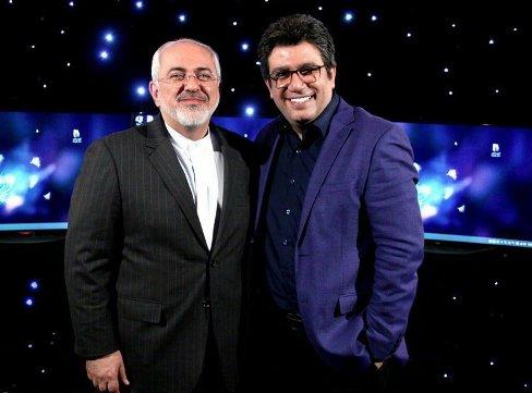 حضور محمدجواد ظریف در برنامه دید در شب رضا رشیدپور