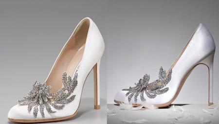 جدیدترین مدل کفش عروس در سال 95