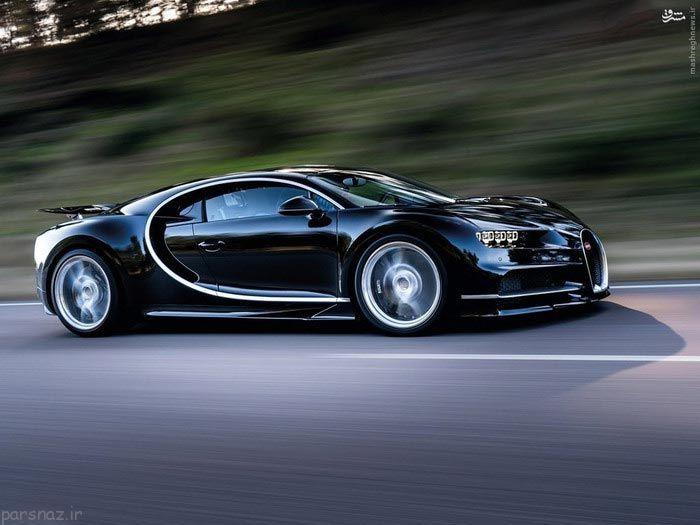 ماشین بوگاتی و رونمایی از سریعترین اتومبیل دنیا