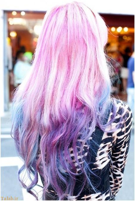 مدل مو و رنگ موهای فانتزی سال 2017