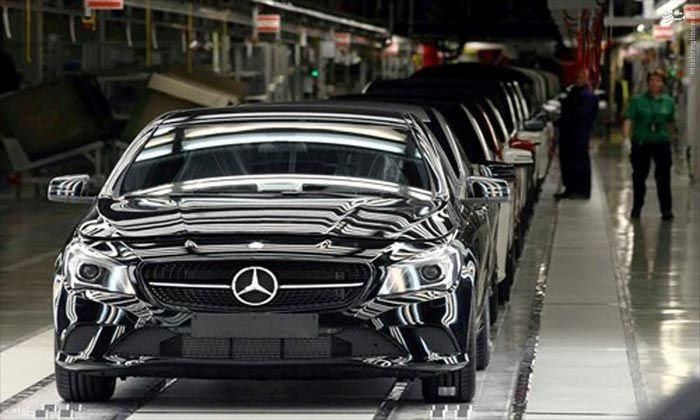 عکس هایی از کارخانه ماشین مرسدس بنز آلمان