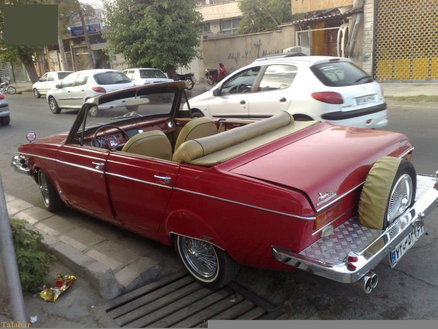 عکس های اسپرت ماشین های پیکان ایرانی