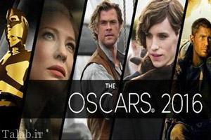 عکس های بازیگران منتخب هالیوود در اسکار سال 2016