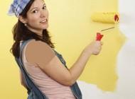 مشکلات بوی رنگ برای زنان باردار