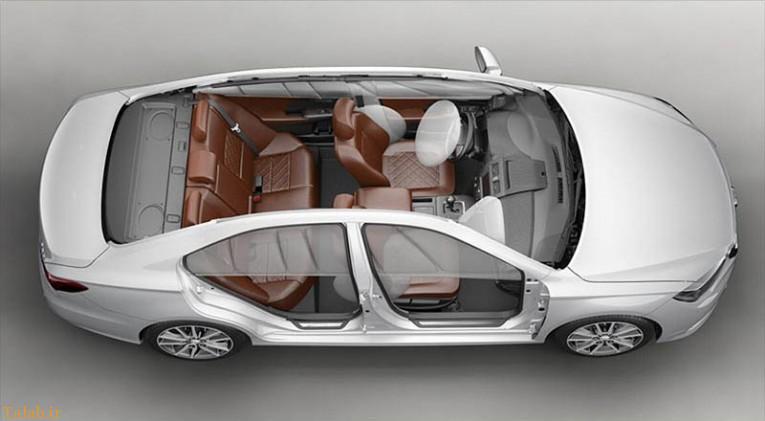 ویژگی های اتومبیل جدید لیفان 820