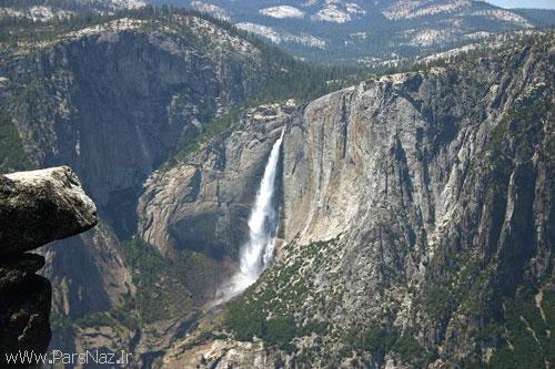 عکس هایی از آبشاری آتشین در آمریکا