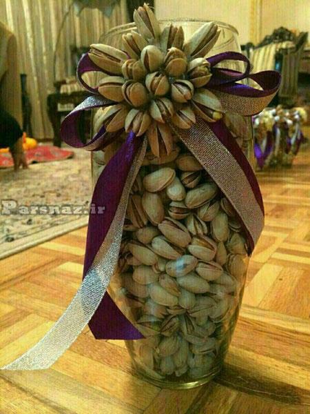 عکس های تزیین آجیل شب عید ویژه عروس خانم ها