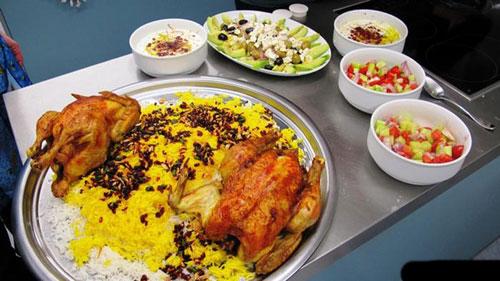 عکس هایی از غذاهای گوناگون ایرانی در آلمان