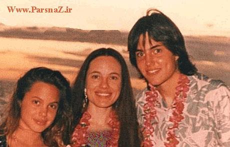 شباهت زیاده آنجلینا جولی به برادر و مادرش