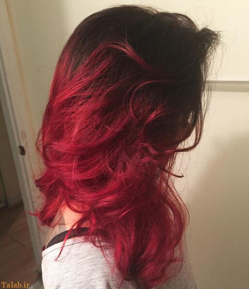 مدل مو و رنگ موهای فانتزی سال 2016