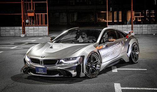 عکس هایی از اتومبیل BMW نسل آینده