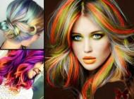 مدل مو و رنگ موهای فانتزی سال 2018