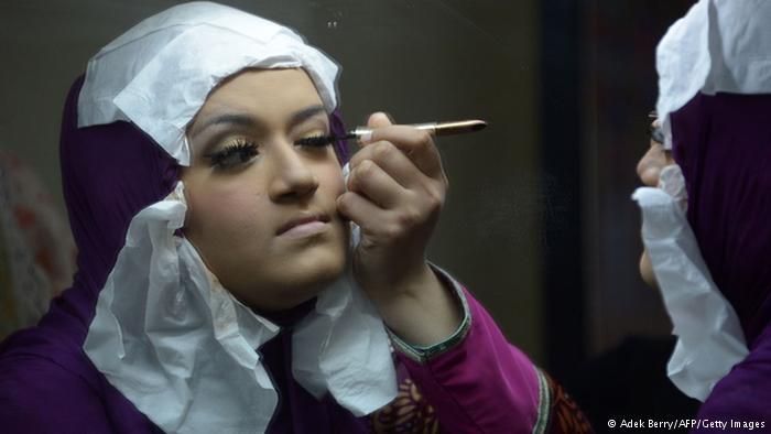عکسهای مسابقه دیدنی زیباترین دختر مسلمان