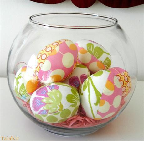 عکس هایی از نمونه های جالب تزیین تخم مرغ