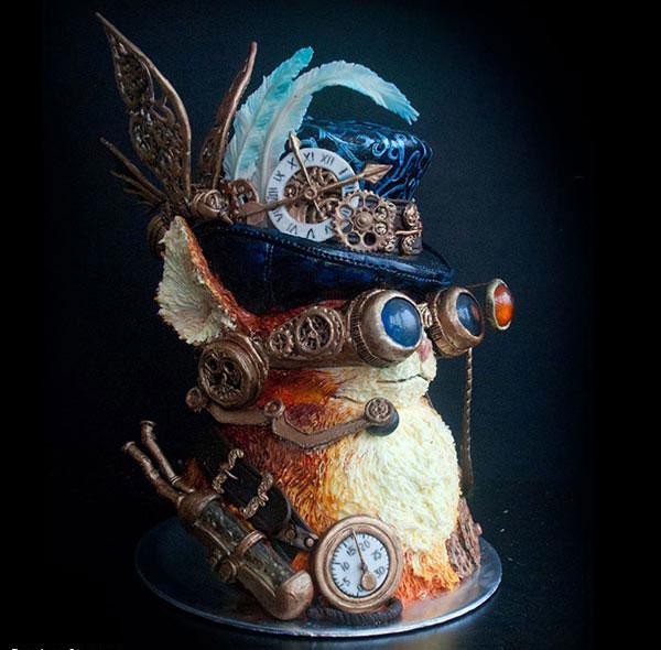 عکس های دیدنی از مسابقه زیباترین کیک ها