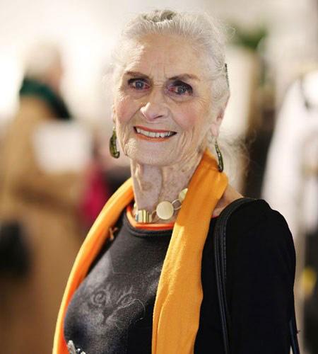 مصاحبه ای جالب با پیرترین مدلینگ دنیا