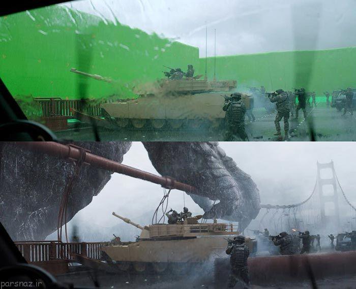 عکس های جالب از جلوه های ویژه فیلم های معروف