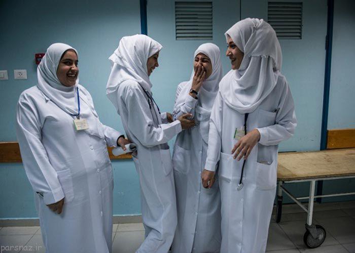 عکس هایی از گزارش تصویری زندگی دختران نوار غزه